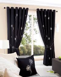 White And Black Curtains For Living Room Luxury Black Curtain Design 16jpg