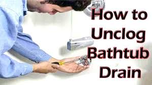 unclog bathtub drain home remedy for clogged drain home remes for clogged tub home remes for clogged tub new home remedy for clogged drain clogged