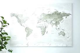 ikea map of the world giant wall art world map canvas in gray white oversized poster on map wall art ikea with ikea map of the world giant wall art world map canvas in gray white