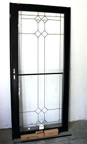 glass storm doors replacing door with screen for designs glass storm doors