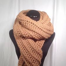 Ribbed Scarf Pattern Best Best Crochet Ribbed Scarf Products On Wanelo