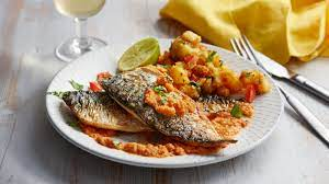 Fried mackerel in a spicy sauce recipe ...