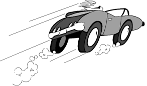 Image result for clipart fast car
