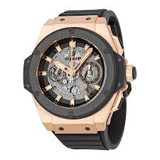 men cool mens watch gold black dial and gbblllwmens strap knockout rubber skeletonized mens round automatic hublot x black and gold watches men hboqrx large size