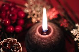 Image result for candles snow public domain images