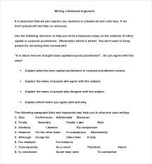 Example Of Thesis Essays Balanced Argumentative Essay Example Argumentative Essay