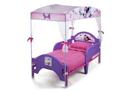 Purple Childrens Bedrooms Girls Bed With Canopy Adorable White Shade With Ribbon Girls