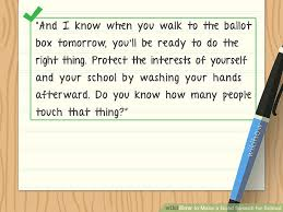 how to make a good speech for school pictures wikihow image titled make a good speech for school step 8