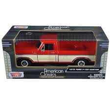 1979 Ford F-150 Pickup Truck 2 Tone Red/Cream 1/24 Diecast Model Car ...