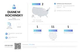 Diane M Kochinsky, (610) 933-7803, 1229 Monroe Ave, Phoenixville ...