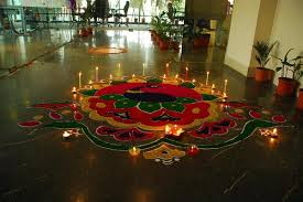 office celebration ideas. Diwali Rangoli | Awesome India Office Celebration Ideas