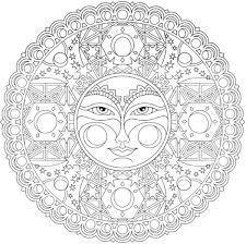 Mandala Da Colorare Difficili Mandala Nel 2018 Pinterest Con Disegni