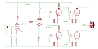 valve audio amplifier technical specification the push pull power amplifier edit