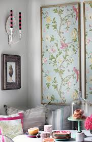 framed wallpaper on make large wall art cheap with 7 diy art projects to try hgtv s decorating design blog hgtv