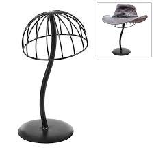 Hat Stands For Display Amazon Freestanding Black Metal Hat Rack Wig Holder Storage 21
