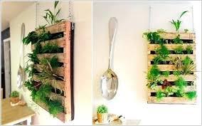 indoor herb garden pallet diy wall ideas kit bunnings
