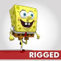 <b>Spongebob 3D</b> Models <b>and</b> Textures | TurboSquid.com