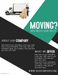 Moving Flyer Template Moving Flyers Magdalene Project Org