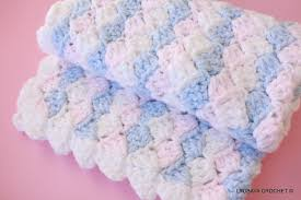 Easy Crochet Baby Blanket Patterns Mesmerizing Free Baby Blanket Crochet Patterns Easy Crochet And Knit