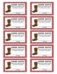 printable cowboy birthday raffle ticket raffle ticket ideas printable cowboy birthday raffle ticket