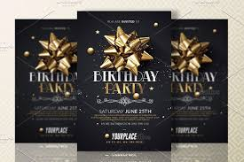 Birthday Invitation Flyer Template Gorgeous Birthday Party Invitation Template Invitation Templates