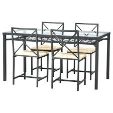 ikea glass dining room table 5 gallery the elegant and also interesting metal glass dining table