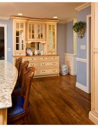 Wooden Floors In Kitchens Handsome Oiled Wood Floors In Kitchen For Wood Floor