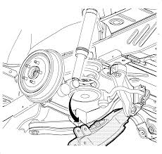 Repair instructions rear spring insulator replacement 2004 rh repairprocedures 2003 saturn vue parts diagram 2004 saturn ion front suspension diagram