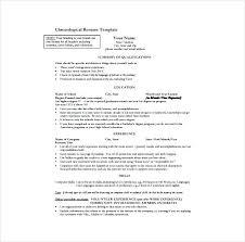Standard Resume Template New Standard Resume Template Standard Resume Template One Page Word Free