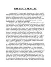 tom walker theme essays also greedy wanting tom to sell his soul 4 pages death penalty essay