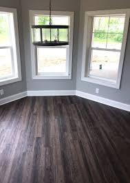 vinyl plank flooring basement. Exellent Plank Distressed Luxury Vinyl Plank Flooring In Walkout Basement  LVP Modern  Rustic New Home Construction Bar U0026 Entertainment Ideas With Basement N