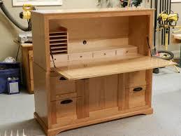 diy modern secretary desk