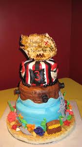 Pirate Themed Birthday Cake Cakecentralcom