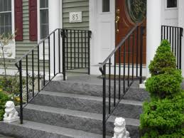 exterior wrought iron stair railings. Simple Railings Railing And Exterior Wrought Iron Stair Railings C