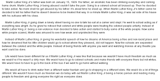 sample martin luther king jr speech essay an essay on martin luther king jr for students kids and children given here i ordered a research paper from you and they are written perfectly