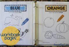 diy dry erase activity book for kids