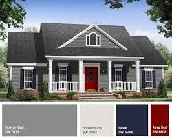 Exterior Home Paint Schemes Unique Ideas