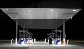 led gas station lights