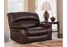 damacio leather recliner ashum