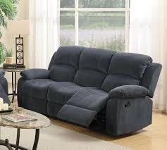 fabric reclining sofas.  Sofas Grey Fabric Reclining Sofa To Sofas