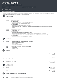 Professional Resume Examples 2020 Help Desk Resume Sample Complete Guide 20 Examples