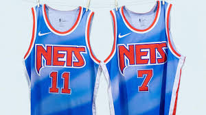 Kyrie irving brooklyn nets jersey size 50. Brooklyn Nets Unveil Classic Edition Jerseys For Next Season Paying Tribute To New Jersey Roots Cbssports Com