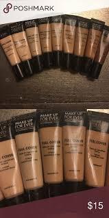 6 concealer makeupforever full cover concealer waterproof in shades 1 3 4