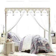 Canopy Bed Cover Princess Baby Mosquito Net Bed Kids Canopy Curtain ...
