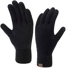 <b>Winter</b> Touchscreen Gloves for <b>Men</b> & <b>Women</b> 3 Fingers Dual-layer ...