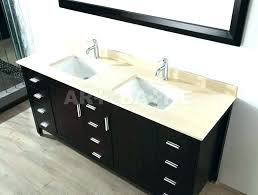 offset sink vanity bathroom without top canada tops right basin