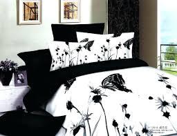 red and black duvet cover red black white bedding set elegant erfly bedding black and white
