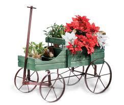 amish country wagon garden display cart