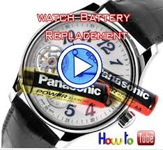 Quick And Easy Method To Change A Watch Battery With A Flat