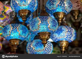 Bunte Türkei Glas Lampen Kronleuchter Detail Der Türkei